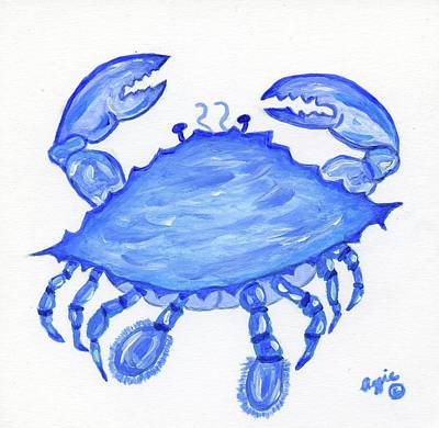 Painting - Buster The Crab by Stephanie Agliano