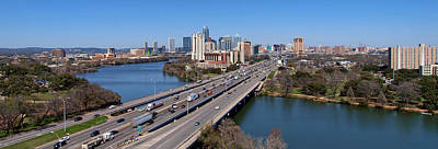 Photograph - Busy Austin Texas by James Granberry
