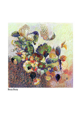 Pastel - Busy Busy by Betsy Derrick