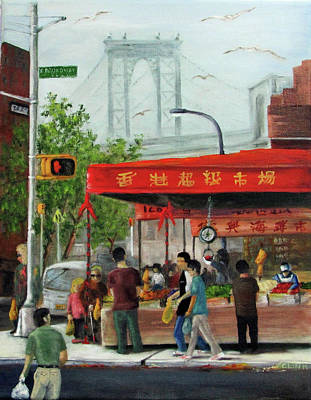 Painting - Busy Corner by Catherine Link
