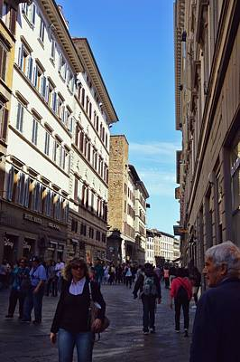 Photograph - Busy Florence by JAMART Photography