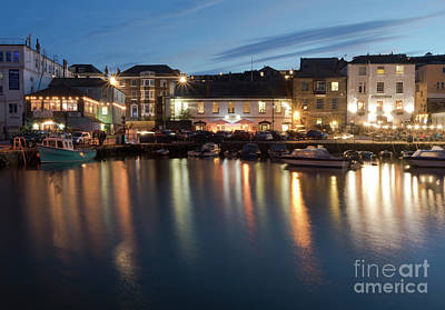 Photograph - Busy Night At Custom House Quay by Terri Waters