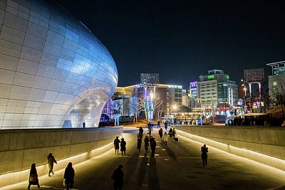 Seoul Photograph - Busy Night by Hyuntae Kim