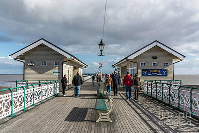 Photograph - Busy On The Pier 2 by Steve Purnell