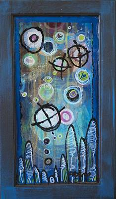 Painting - But Life Goes Easy, Abstract 8 by Laurie Maves ART