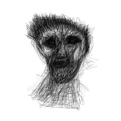 Drawing - Butch by Bill Owen