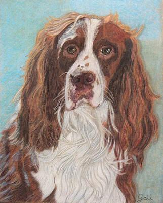 Shower Head Painting - Butch My Buddy by Gail Seufferlein