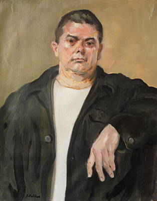 Painting - Butch Standing At Ease by Robert Holden