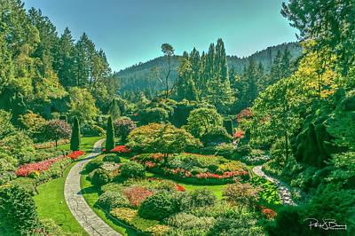 Photograph - Butchart Gardens by Patrick Boening