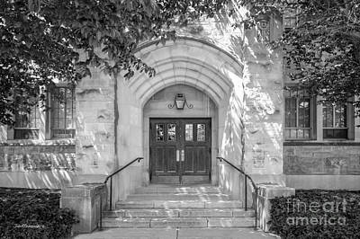 Butler University Doorway Art Print by University Icons