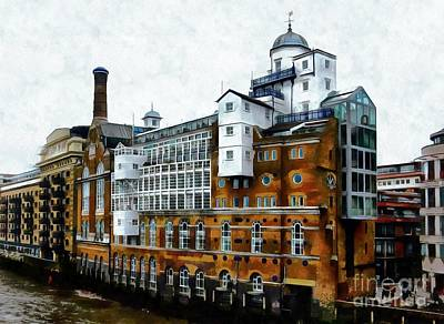 Photograph - Butlers Wharf London by Dorothy Berry-Lound