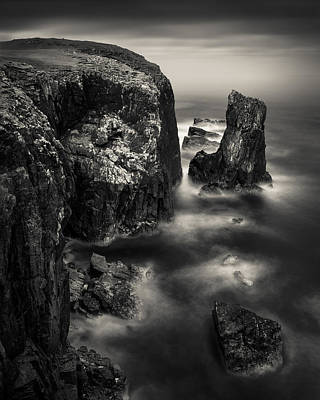 Photograph - Butt Of Lewis Cliffs by Dave Bowman