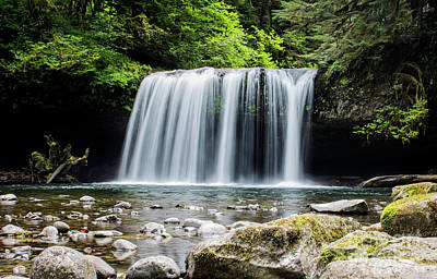 Photograph - Upper Butte Creek Falls And The Enchanted Dragon by Patricia Babbitt