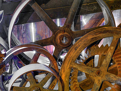 Photograph - Butte Creek Mill Antiques by Leland D Howard
