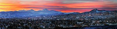 Photograph - Butte Montana Panorama by Scott Wheeler