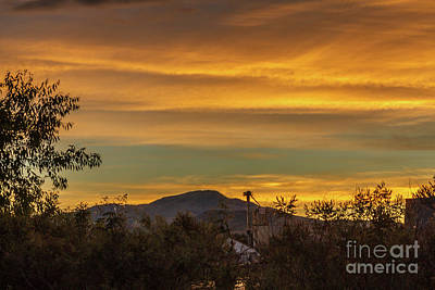 Photograph - Butte View From Sports Complex by Robert Bales