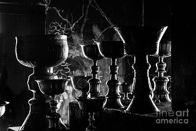 Photograph - Butter Lamps At Lamayuru - Ladakh by Craig Lovell