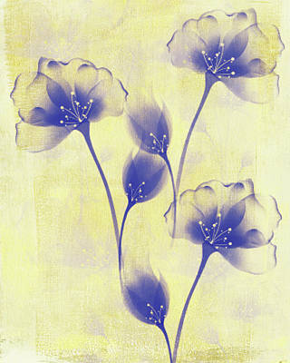 Mixed Media - Butter Yellow Morning by Georgiana Romanovna