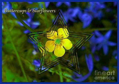 Photograph - Buttercups And Starflowers by Joan-Violet Stretch