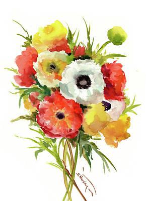 Painting - Buttercups by Suren Nersisyan