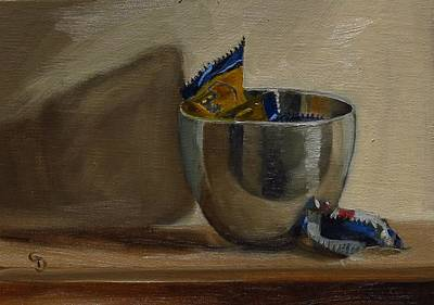 Painting - Butterfingers by Grace Diehl