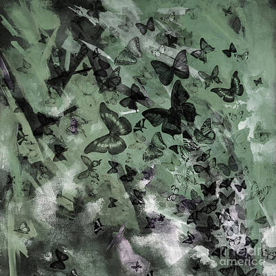 Nature Painting - Butterflies Acrylic Art  by Gull G