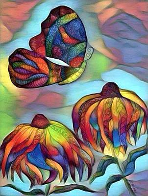 Digital Art - Butterflies For Children 1 by Megan Walsh