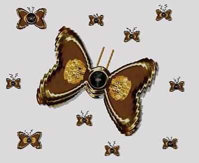 Butterflies For The Worlds  Future Art Print