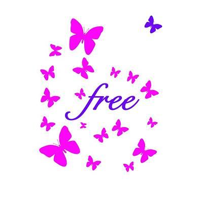 Butterflies Free Original by Bill Owen
