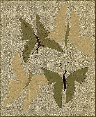Painting - Butterflies In Love by Emna Bonano