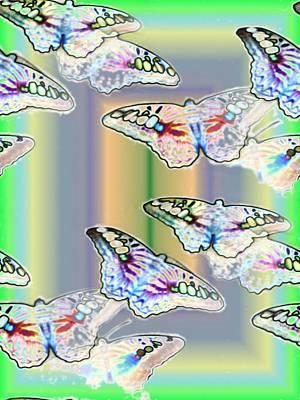 Photograph - Butterflies In The Vortex by Tim Allen