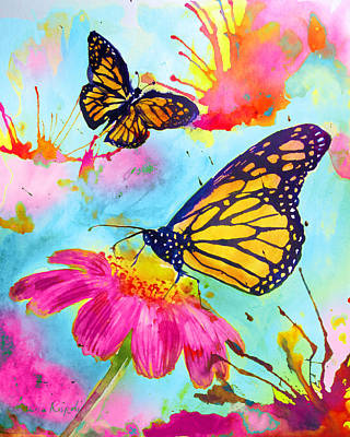 Painting - Butterflies by Laura Rispoli