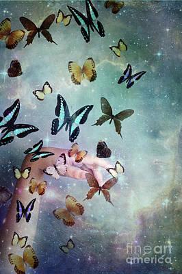 Digital Art - Butterflies Reborn by Stephanie Frey