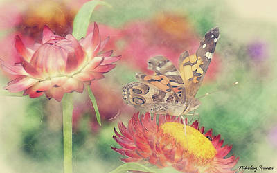 Butterfly Painting - Butterfly-19-amazing Paintings by Nikolay Ivanov