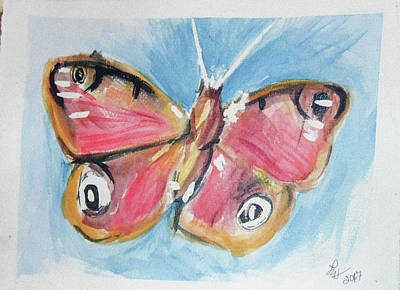 Painting - Butterfly 3 by Loretta Nash