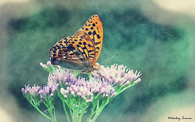 Bug Painting - Butterfly-amazing Paintings-23 by Nikolay Ivanov