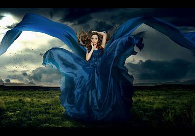 Epic Digital Art - Butterfly And Hurricane by Irina Istratova
