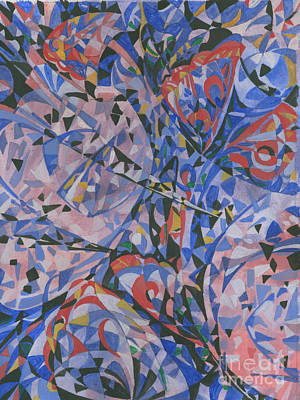 Abstract Drawing - Butterfly by Andrey Soldatenko