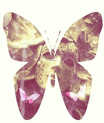 Butterfly Angel Art Print
