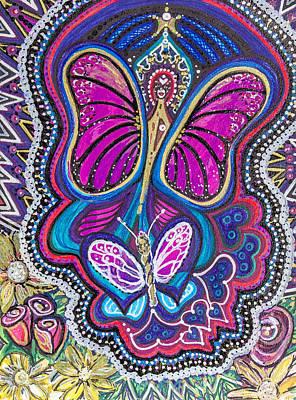 Butterfly Angels Art Print
