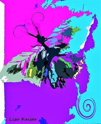 Digital Art - Butterfly Art By Lisa Kaiser by Lisa Kaiser