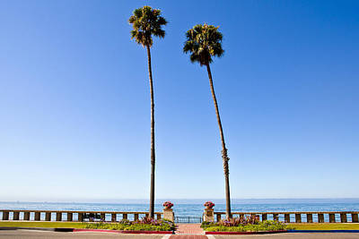 Butterfly Beach, Santa Barbara, California Print by Geri Lavrov