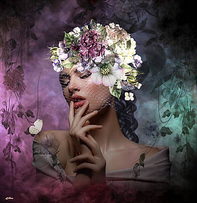 Erotica Mixed Media - Butterfly Beauty 02 by G Berry