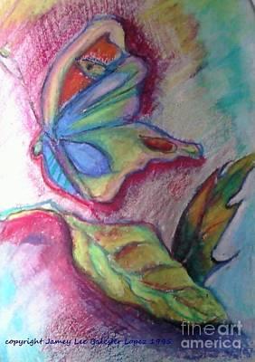 Butterfly Beauty Art Print by Jamey Balester