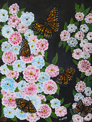 Painting - Butterfly Beauty by Teresa Wing