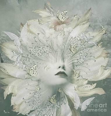 Digital Art - Butterfly Bloom 2 by Ali Oppy
