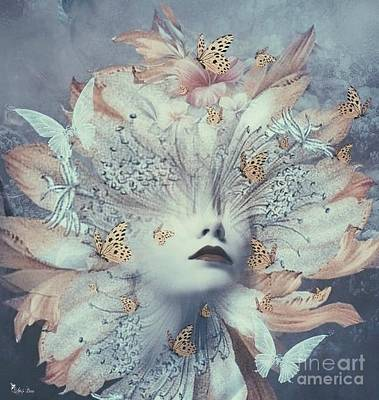 Digital Art - Butterfly Bloom by Ali Oppy