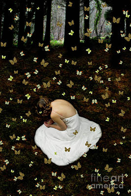 Photograph - Butterfly Bride Number 2 by Clayton Bastiani