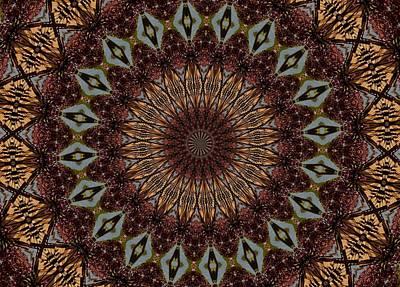 Digital Art - Butterfly Bush Mandala by Max DeBeeson