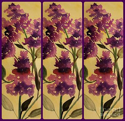 Painting - Butterfly Bush by Maria Urso